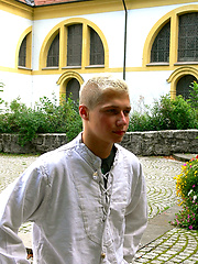 Cute Twink Max as monk boy, Added: 2012-03-23 by AlexBoys