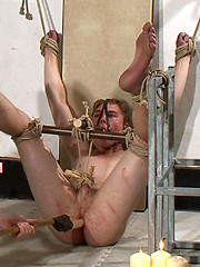 Hetero man Joel is subjected to extreme bondage at Breeder Fuckers, Added: 2012-09-10 by Breeder Fuckers