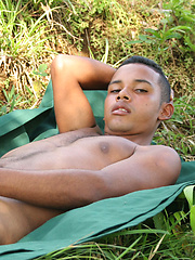 Ebony twink Teodoro Solo, Added: 2012-09-27 by Tribal Twinks