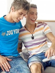 Jack Harrer, Roger Lambert & Jim Kerouac 2 Part - bareback threesome, Added: 2013-08-10 by Bel Ami Online