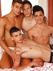 Passive Israeli Stud Worked Over By 3 Of Our Exclusive Czechs!, Added: 2013-08-14 by Staxus