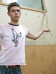 Roped, whipped and fucked!, Added: 2013-08-15 by Staxus