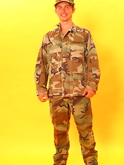 Czech young soldier stripping, Added: 2012-04-04 by Czech Boys