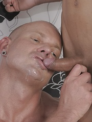 Older Hungarian Hunk Gets Fucked, Fisted & Jizzed By The Mendez Twins, Added: 2014-05-01 by Staxus