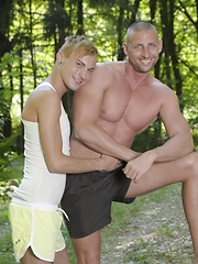 Young Blond Twink Gets A Hard, Open-Air Fucking & Hot, Sticky Facial!, Added: 2014-05-01 by Staxus