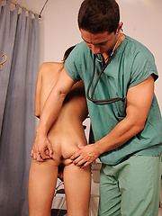 Robert and Zdenek fucking in doctor's office, Added: 2014-06-06 by William Higgins