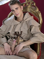 Uniforms: Father Salvatore commits sins of the flesh with brother Adrian, Added: 2014-09-16 by Staxus